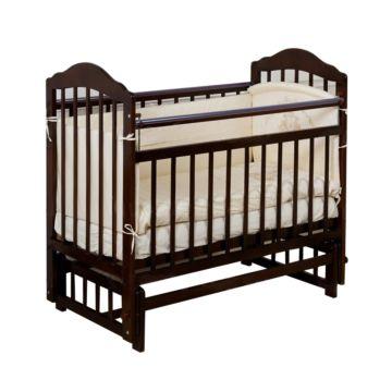 Кроватка детская Incanto Pali (продольный маятник) (темный)
