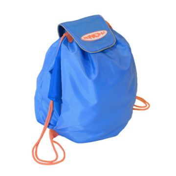 Мешок под обувь Манюни Всёвлезайка (голубой с васильком)