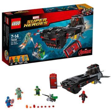 Конструктор Lego Super Heroes 76048 Супер Герои Похищение Капитана Америка