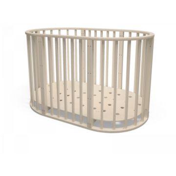 Кроватка-трансформер Millwood Кроша 7 в 1 (слоновая кость)