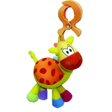 Развивающая игрушка-подвеска на клипсе Biba Toys Жираф