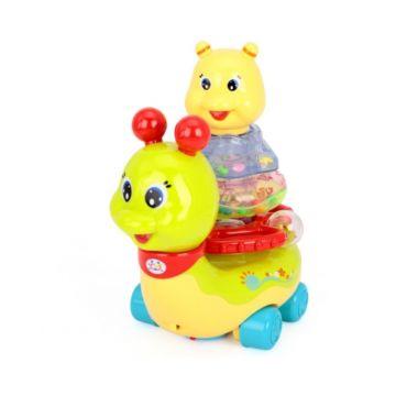Развивающая игрушка Huile Улитка