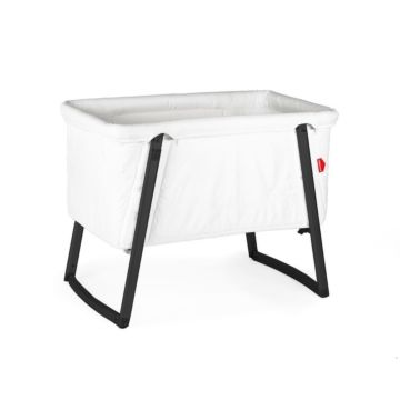 Колыбель Babyhome Dream Premium White/Black