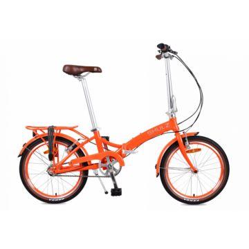 Велосипед складной Shulz Goa V-brake (2017) оранжевый