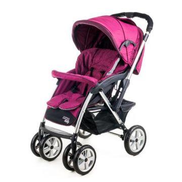 Коляска прогулочная Liko Baby AU-258 (фиолетовый)