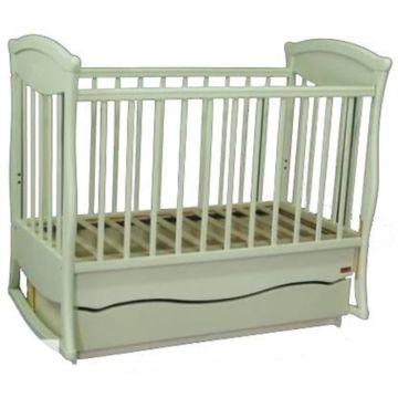 Кроватка детская Наполеон Грация с поперечным маятником (белая)