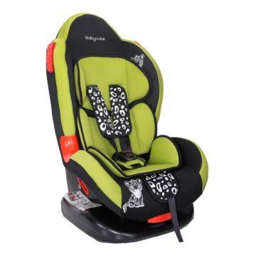Автокресло Baby Care BC-02 Леопардик Люкс (зеленый)