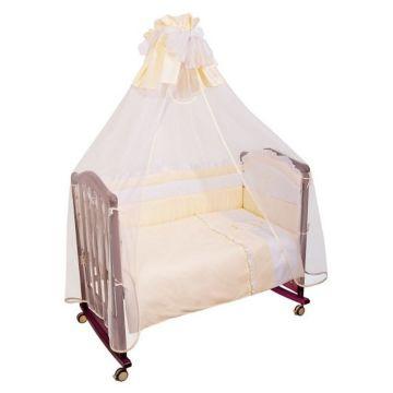 Комплект постельного белья Сонный Гномик Пушистик 120х60см (3 предмета) бежевый