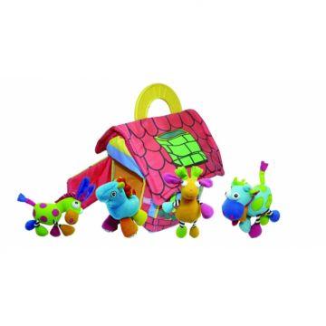 Развивающая игрушка-подвеска Biba Toys Фермерский дом