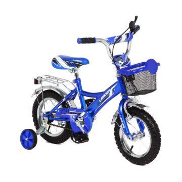 """Детский велосипед Leader Kids 12"""" (Синий)"""