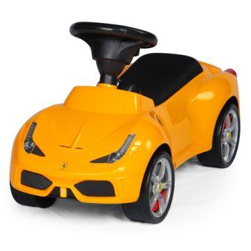 Каталка-автомобиль Rastar Ferrari 458 (желтый)