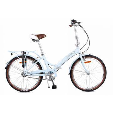 Велосипед складной Shulz Krabi V-brake (2017) голубой