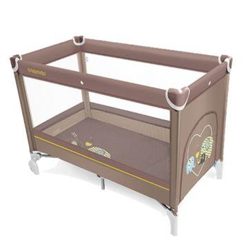 Манеж-кровать Baby Design Simple (бежевый)