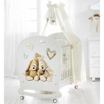 Кроватка детская Baby Expert Cremino by Trudy (белая)