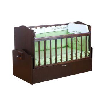 Автоматическая детская кровать Daka Baby Укачай-ка 02 (Венге)
