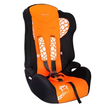 Автокресло Baby Care BC-513 Жирафик (оранжевый)
