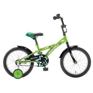 """Детский велосипед Novatrack Delfi 18"""" (2016) салатовый"""