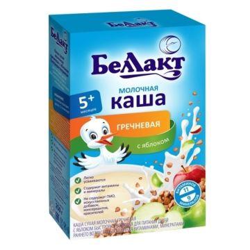 Каша сухая молочная гречневая с яблоком Беллакт (с 5 мес.) 250 г