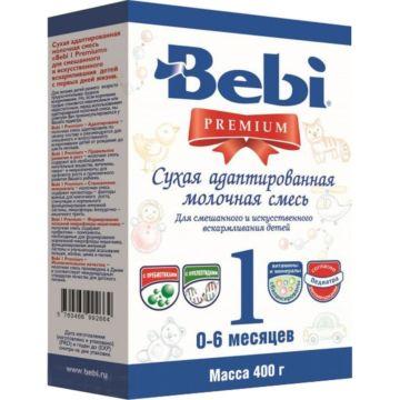 Сухая молочная смесь Bebi Premium 1 в коробке (0-6 мес.) 400 г
