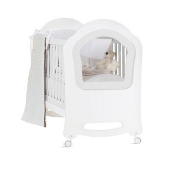 Кроватка Feretti Princier (колесо) (белая)