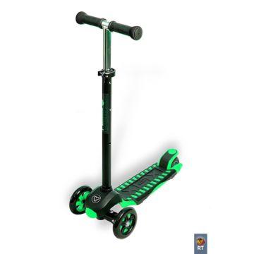 Самокат Y-bike Glider Maxi XL Deluxe (зеленый)