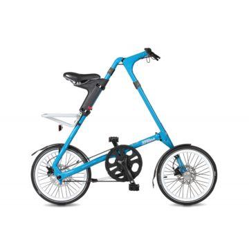 Велосипед складной Strida SX (2017) голубой