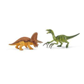 Набор фигурок Трицератопс и Теризинозавр мини Schleich