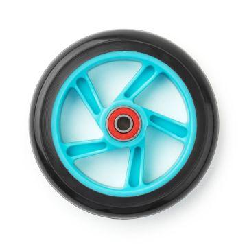 Колесо и подшипник для самоката Trolo Mini (голубое)