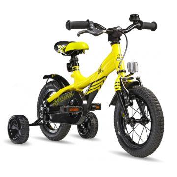 "Велосипед S'cool XXlite 12"" (2016) желтый"