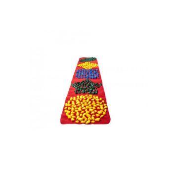 Массажный коврик-дорожка Onhillsport 200х40 см (Красный)