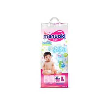 Подгузники Manuoki L (от 12 кг) 44 шт