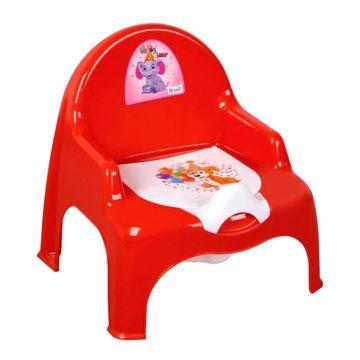 Горшок-кресло Dunya Plastik (красный)