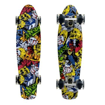 "Мини-круизер Fish Skateboards 22"" Print Cartoon"