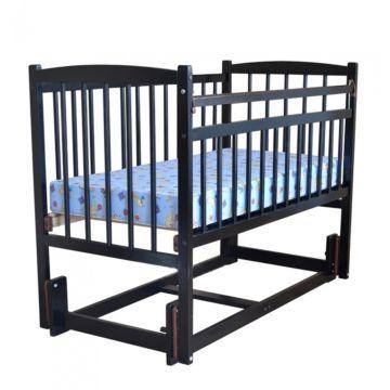 Кроватка детская Массив Беби 3 (продольный маятник) (венге)