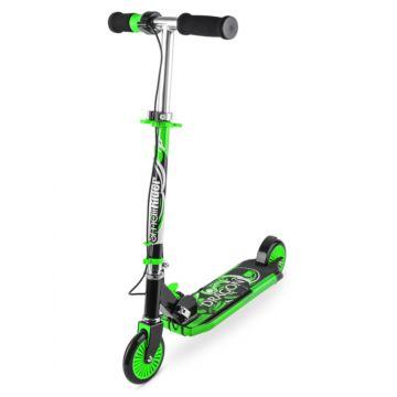 Самокат Small Rider Dragon со светом, звуком и дымом (зеленый)
