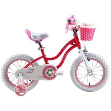 """Детский велосипед Royal Baby Stargirl Steel 12"""" (малиновый)"""