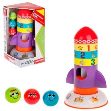 Развивающая игрушка S+S Toys Космическая ракета