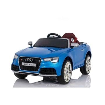Электромобиль Coolcars Audi RS5 с зонтиком (синий)