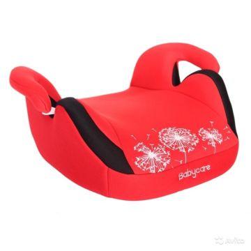 Бустер Baby Care Баги BC-311 Люкс (красный)