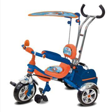 Трехколесный велосипед Toymart Disney с ПВХ-колесами