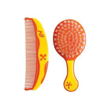 Набор детских расчёсок Lubby Звёздочки (Оранжевый)