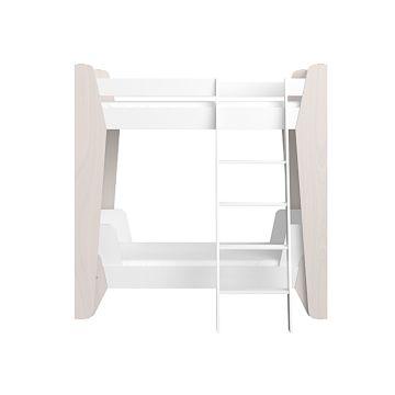 Кровать двухъярусная Ellipse Line L (белый)