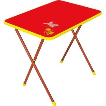 Стол складной Ника Детям Алина (Красный)