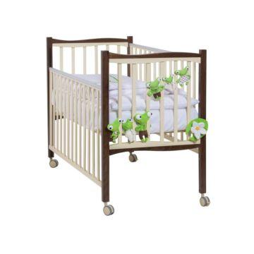 Кроватка детская Papaloni Fiore (Шоколад/слоновая кость)
