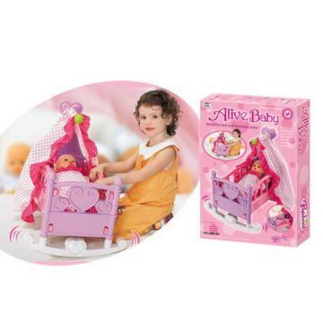 Игровой набор Xiong Cheng Колыбель с балдахином для кукол