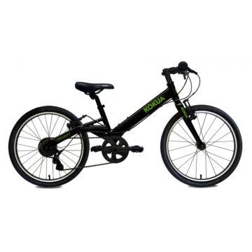 """Детский велосипед Kokua LiketoBike 20"""" Special (черно-зеленый)"""