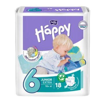 Подгузники Bella Baby Happy Junior Extra (от 16 кг) 18 шт