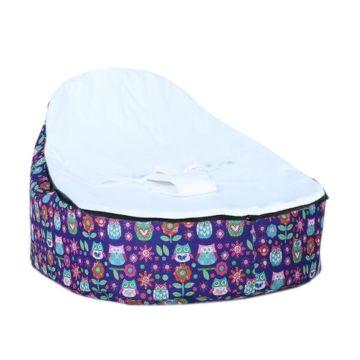 Кокон для новорожденных Feter Baby Bean Bag M до 30 кг (фиолетовый)