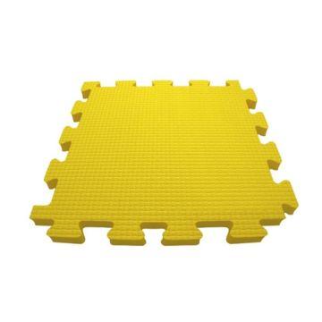 Мягкий пол Babypuzz 100*100*4 (желтый)