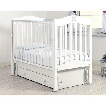 Кроватка детская Гандылян Ванечка (универсальный маятник) (белый)